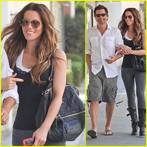 Kate Beckinsale: Len Wiseman Is Confident In My Kissing Skills!