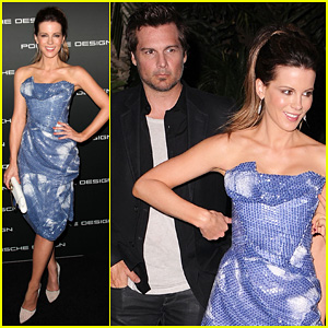 Kate Beckinsale: Porsche Design 40th Anniversary!
