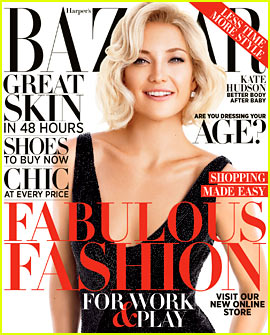 Kate Hudson Covers 'Harper's Bazaar' October 2012