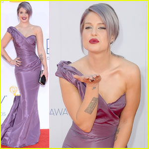 Kelly Osbourne - Emmys 2012 Red Carpet