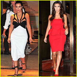 Kim Kardashian: DuJour Magazine Launch Party!