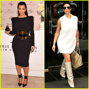 Kim Kardashian: Perfume Signing for Fashion's Night Out!