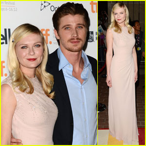Kirsten Dunst & Garrett Hedlund: 'On The Road' Premiere at Toronto Film Festival!