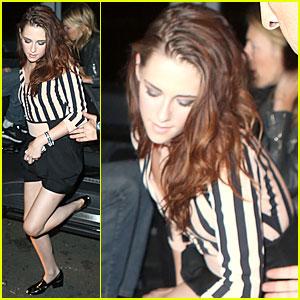 Kristen Stewart: La Fidelite Restaurant Stop!