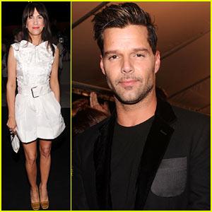 Kristen Wiig & Ricky Martin: Marc Jacobs Show!