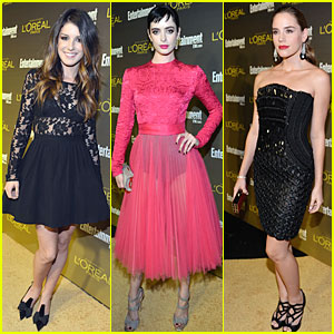 Krysten Ritter &#038; Shenae Grimes: EW Pre-Emmy Party!