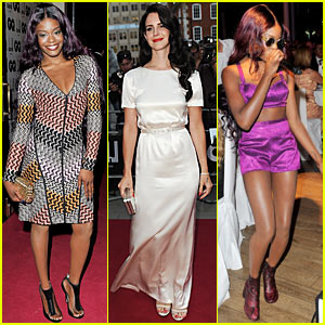 Lana Del Rey: GQ Men of the Year Awards with Azealia Banks!