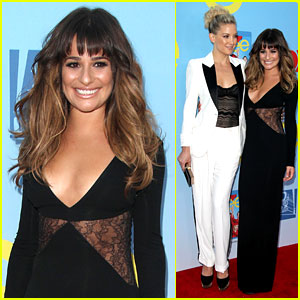 Lea Michele &#038; Kate Hudson: 'Glee' Season 4 Premiere!