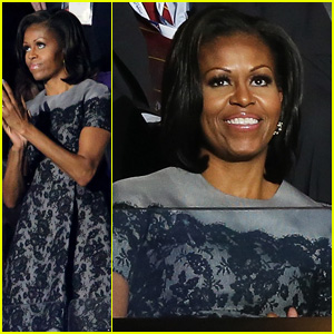 Michelle Obama Reads Top 10 List on 'David Letterman'