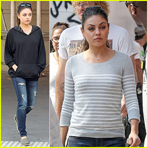 Mila Kunis: 'Angriest Man in Brooklyn' Set!