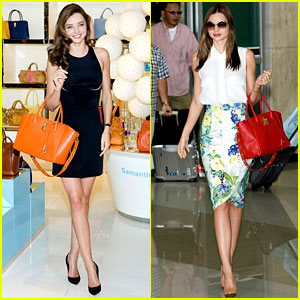 Miranda Kerr: Samantha Thavasa Event in South Korea!