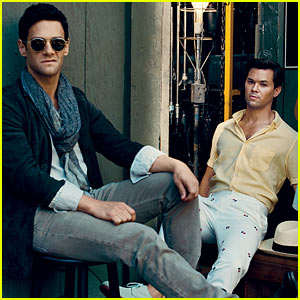 Andrew Rannells, Justin Bartha, & 'New Normal' Cast: 'Vogue' Feature!