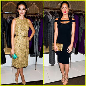 Camilla Belle & Olivia Munn: Kors Collaborations Party!
