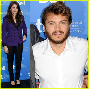 Penelope Cruz: 'Twice Born' TIFF Photo Call with Emile Hirsch!