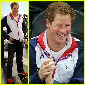 Prince Harry: Paralympics Swimming Spectator!