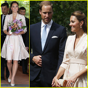 Prince William & Duchess Kate: Singapore Botanical Gardens!