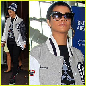 Rihanna: Later, London!