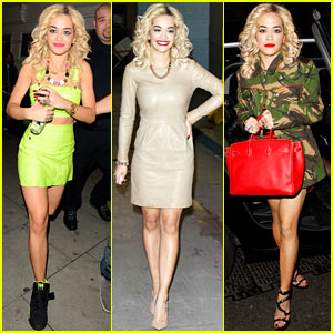 Rita Ora: Stylish in London!