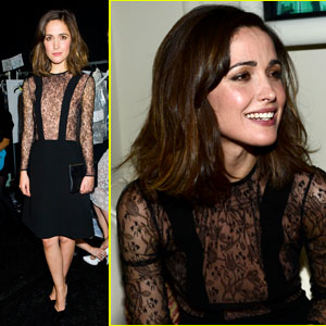 Rose Byrne: Jill Stuart Fashion Show at NYFW