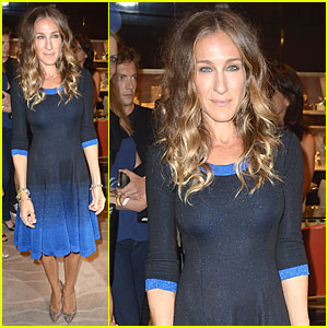 Sarah Jessica Parker: Fashion's Night Out at Fred Leighton!