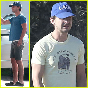 Shia LaBeouf: Human GPS in Sherman Oaks!
