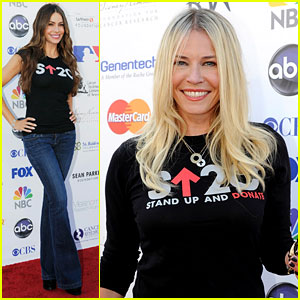 Sofia Vergara & Chelsea Handler: Stand Up To Cancer!