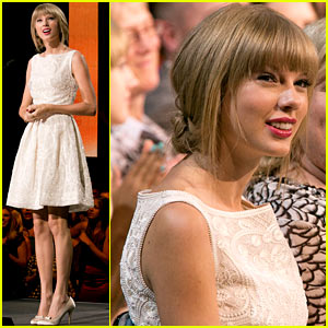 Taylor Swift: Canadian Country Music Awards!