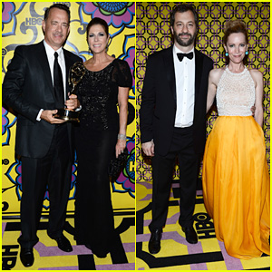 Tom Hanks & Judd Apatow - HBO's Emmys After Party