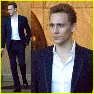 Tom Hiddleston's Favorite Childhood Superhero: Superman!