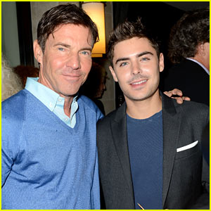 Zac Efron: TIFF's Sony Cocktail Hour with Dennis Quaid!