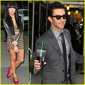 Adam Levine & Carly Rae Jepsen: 'Late Show with David Letterman'!