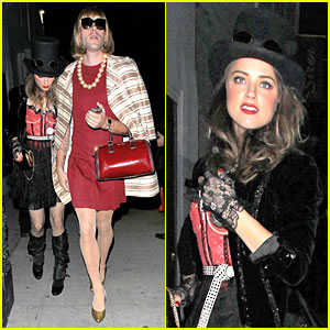 Amber Heard - Just Jared Halloween Party 2012