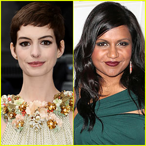 Anne Hathaway To Star In Mindy Kaling's 'Low Self-Esteem of Lizzie Gillespie'