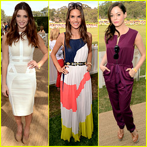 Ashley Greene & Alessandra Ambrosio: Polo Classic Cuties!