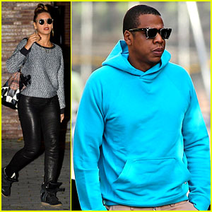 Beyonce: Battery Park Dinner Date with Jay-Z!