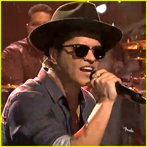 Bruno Mars' 'Saturday Night Live' Performances - Watch Now!