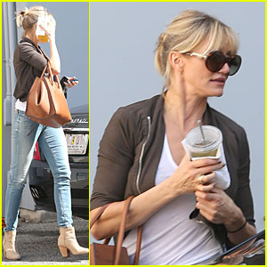 Cameron Diaz: Gucci Shopping Stop!