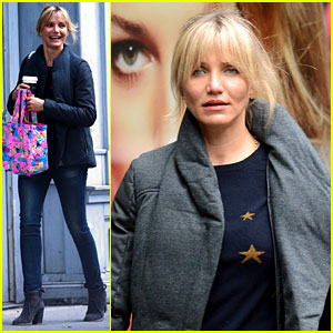 Cameron Diaz: Starry New York City Shopper!