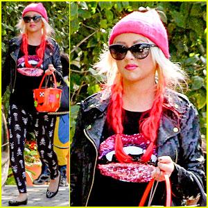 Christina Aguilera: Max's Halloween Festivities!