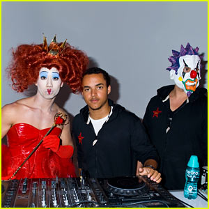 Connor Cruise - Just Jared Halloween Party 2012