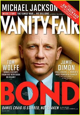 Daniel Craig Covers 'Vanity Fair' November 2012