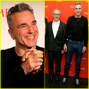 Daniel Day-Lewis & Steven Spielberg: 'Lincoln' Screening!