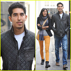 Dev Patel: London Stroll with Gal Pal!