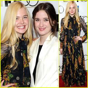 Elle Fanning: 'Ginger & Rosa' Premiere with Alice Englert!