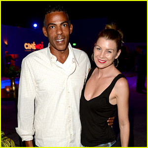 Ellen Pompeo: Cinmoi Launch Party with Chris Ivery!