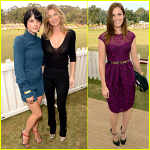 Ellen Pompeo &#038; Selma Blair: Veuve Clicquot Polo Classic!