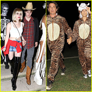 Emma Roberts: 'Pretty Woman' Aunt Julia for Halloween!