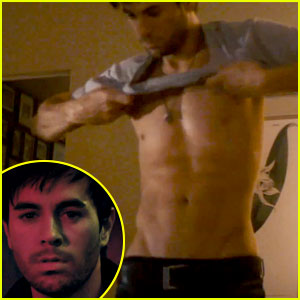 Enrique Iglesias: Shirtless for 'Finally Found You' Video!