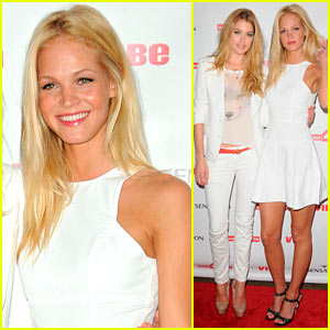 Erin Heatherton: Dance4life Cocktail Party with Doutzen Kroes!