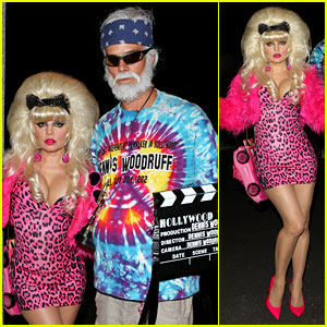 Fergie: Angelyne Halloween Costume with Josh Duhamel!